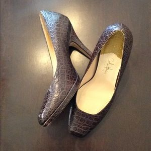 Cole Hann Air Collection Square Toe Heels 7